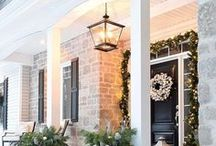 Home for the Holidays / Decorating your home for the holidays? Get inspiration here: https://progresslighting.com/blog-home-for-the-holidays-with-progress-lighting/