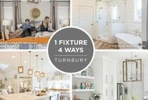 """One Fixture, Four Ways / We're excited to show off the versatility of some of our most popular collections through our """"One Fixture, Four Ways"""" posts on the blog. Enjoy the many ways to style on-trend fixtures from Progress Lighting."""