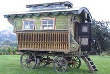 Tiny Living Bohemian Style / Inspiration for our travel trailer http://quirkybohomama.blogspot.com/ / by Texarkana Renaissance Faire