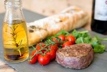 Organic, Grass Fed Beef / A selection of Organic, Grass Fed Beef products, all available from Coombe Farm Organic: https://www.coombefarmorganic.co.uk
