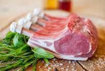 Organic, Grass Fed Lamb / A selection of Organic, Grass Fed Lamb products, all available from Coombe Farm Organic: https://www.coombefarmorganic.co.uk