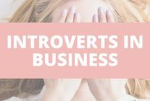 Introverts in Business / You don't have to make cold calls, give speeches to millions or go to networking events 3 times a week to get clients. You can succeed as an introverted entrepreneur and even use it to your advantage.
