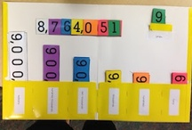 Counting/Number Sense/Place Value  / These ideas help students develop or improve counting skills, place value understanding and sense of number. / by Carol Camp