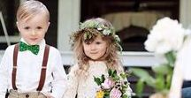 ♡  Wedding Belles ♡ / Inspiration for page boys, bridesmaids and flower girls