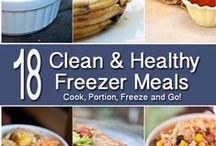 Dinner: Freezer Meals / by Shannon Qualls