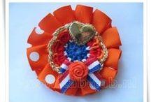 Holland-Dutch-Products / Hair-brooches-crochet-accesoiries