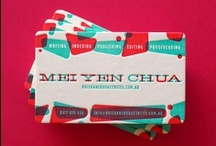 Business Card Ideas / When it comes to designing a business card, where do you start? These are some of our favorites!
