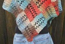 Haken Sjaals/Omslagdoeken - Crochet Shawls
