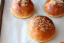 Bread + buns / Make your own bread and even hamburger buns, biscuits, rolls, hotdog buns and more with these delicious bread recipes / by Busy Mommy