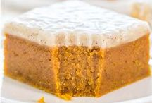 Pumpkin Recipes / Some might get sick of this fall flavor, but I could have it all year round! Pumpkin is in! / by Busy Mommy