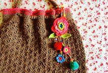 Crochet Bags+Baskets
