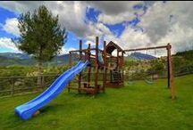 Casas con parque infantil