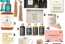 Holiday Gift Ideas / Gift ideas for winter holidays such as Christmas + Hannukah. Christmas gift ideas for everyone on your list this holiday season.