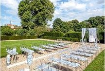 Outdoor Wedding reception / Inspiration for your oudoor wedding reception