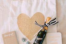 Welcome Bag / Welcome bag ideas for destination wedding