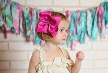 Julia's Bowtique / Classic Boutique Style Hair Bows  / by Julia's Bowtique