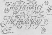 Hand Lettering & Calligraphy / by Bukola Koiki