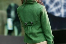 [Style] Green Coats / Inspiration for a FW12 coat purchase  / by Tee Twyford