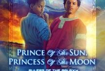 """Rulers of the Galaxy / This board is dedicated to the YA trilogy I am working on, """"Prince of the Sun, Princess of the Moon,"""" """"Light of Alandri,"""" and """"Keepers of the Stars."""""""