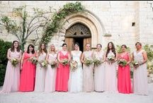 Bridesmaids & Flower girls / Ideas for bridemaid dresses and flower girls