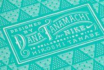 typography, lettering / by Tatsushi Eto