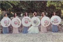 Wedding Parasols  / Parasols, umbrellas for your wedding day