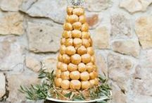 Croquembouche  / Croquembouche the alternative French wedding cake, a tower of profiteroles and a great dessert