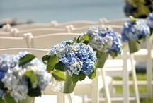 Blue and white weddings / Ideas and inspiration for blue and white weddings