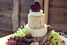 Cakes of Cheese / Wedding cakes of cheese