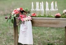 Wedding Table Ideas / Table scapes and decorations