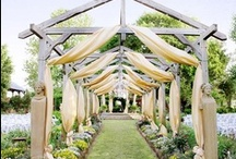 Outdoor ceremony / Ideas and inspiration if you are considering an outdoor wedding ceremony or blessing