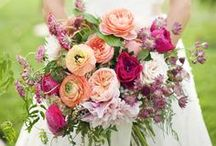 Wedding Bouquets  / Bride and bridesmaid bouquet ideas, plus unique floral decorations to hold / by French Wedding Style - Wedding Blog