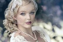Bridal Style: Vintage / Vintage bridal looks, vintage wedding dresses