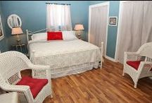 Holiday Guest House Suites / These cozy vacation rentals are newly renovated and each unit sleeps 2-6 people. Located six minutes from Holiday World, the rentals feature spacious kitchens, comfortable sleeping areas, patios, and decks.