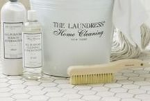 Home Cleaning How Tos / The Laundress will get your home, and all the nooks and crannies, in tip top shape!