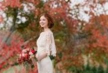 Autumn Fall Wedding Ideas / Inspiration and ideas for Autumn Fall Weddings in France and around the world