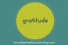 Gratitude / Gratitude brings more into your life. This board is focused on being thankful for the good life has to offer.