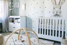 Nurseries / Serene rooms for babes to nod off.