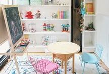 Playrooms / Playful places and creative coves where it's all fun and games.