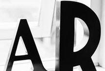 /// LETTERS  /// / Letters - bogtaver - typografi