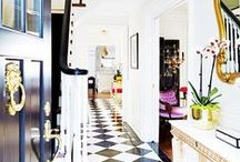 Foyer Fever / Entryways we want to walk through over and over again.