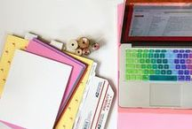 Get Organized + Set Goals / Goal setting / small business / goals / planners / organize