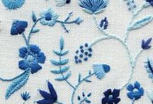 Modern Hand Embroidery / Modern hand embroidery ideas and inspiration.