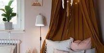 Værelses inspiration / Inspirations for decorating rooms