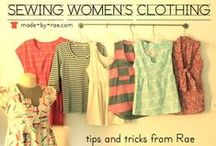 Sewing & Tailoring / Because I CAN!  Place I keep tips on sewing just about anything. / by Brigitte Brown