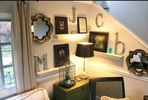Room Inspiration and How-to's / by Megan Hafer