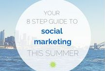 Social Media Marketing / A collections of infographics on social media marketing stats, fun facts and more. / by Wishpond