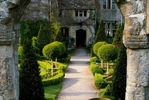 Garden: Entrances, Archways & Gateways...  / Into, through & leaving the garden / by Laara Copley-Smith Garden Design
