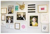 inspired • walls / by McKenzie {Girl Loves Glam}