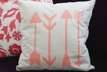 inspired • pillows / by McKenzie {Girl Loves Glam}